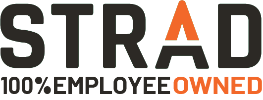 Strad 100 Employee Owned alternate logo