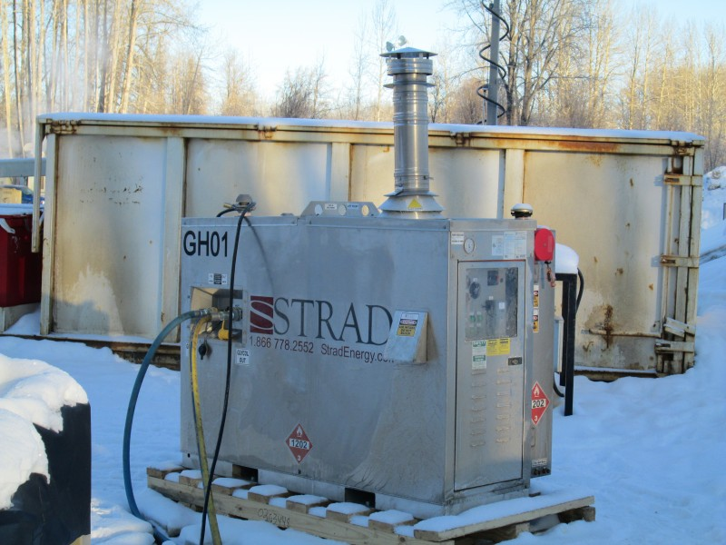Glycol Industrial Worksite Heaters Heat In Tank Or Surface